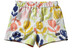 Patagonia Baby Baggies Shorts Poppies: Birch White